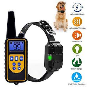 YiPet 800 Yards Range Remote Dog Training Collar