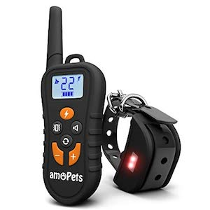 amoPets Dog Training e-Collar with Remote