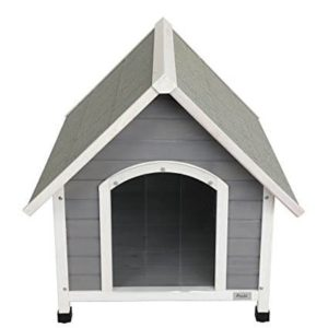 "Petsfit 39.8""L x 33.1""W x 34.1""H Wooden Dog House"