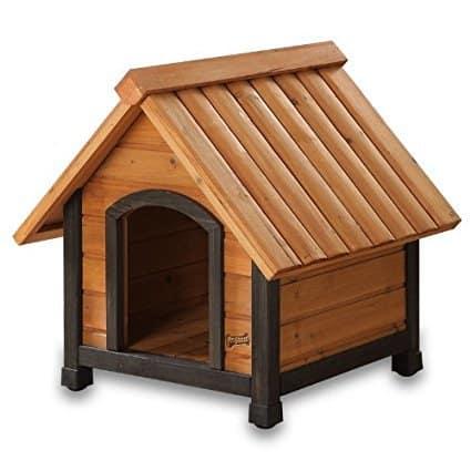 Pet Squeak Arf Frame Dog House with Dark Frame