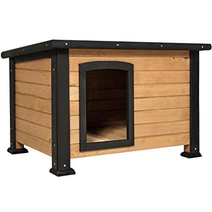 Best Choice Products Wooden Outback Cabin Dog House