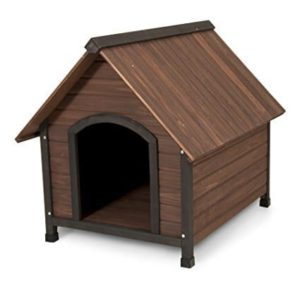 Aspen Pet Ruff Hauz Peak Roof Dog House