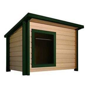 New Age Pet ecoFLEX Rustic Lodge Style Dog House