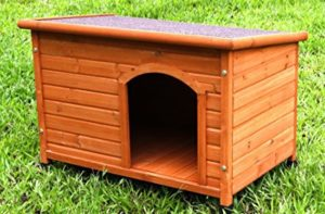 Captain Pet Waterproof Solid Cedar Dog House