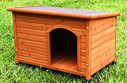 Captain Pet Waterproof Solid Cedar Dog House