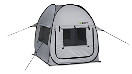GigaTent Pet PopUp Tent with Fitted Foam Pad