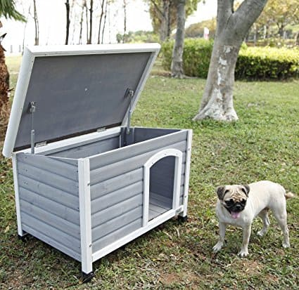 The best outdoor dog houses 2018 luxury weatherproof more - Casetas pvc exterior ...