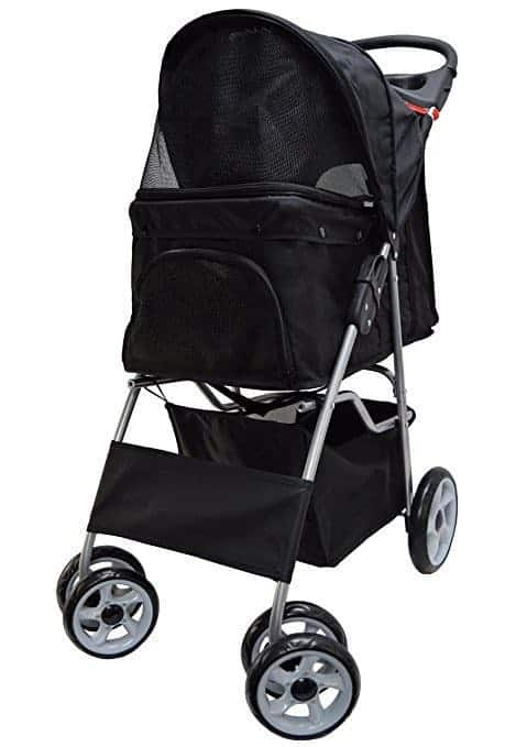 VIVO Four Wheel Pet Stroller