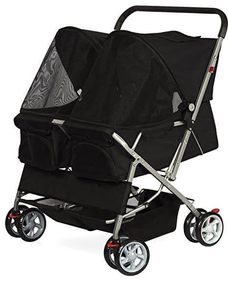 OxGord Double Pet Stroller