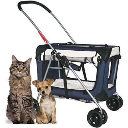 "PetLuv ""Happy Pet"" Premium 3-in-1 Soft Sided Pet Carrier"