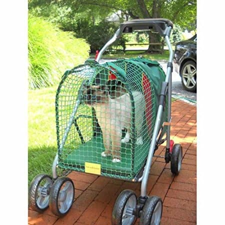 Emerald Pet Stroller SUV Green