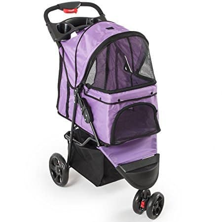 Fur Family Foldable Pet Stroller