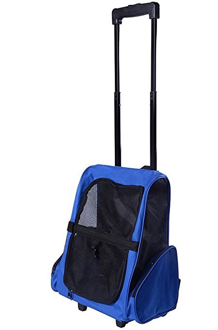 Sunnyhome007 5-in-1 Portable Cat Travel Backpack