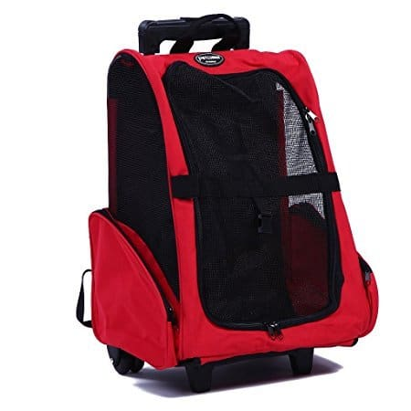 Pettom Roll Around 4-in-1 Pet Carrier