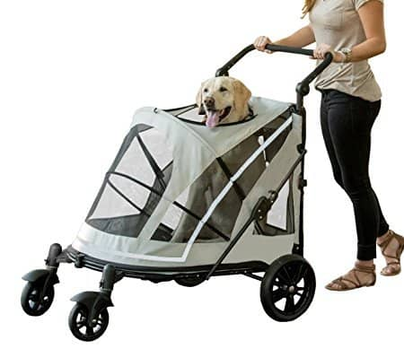 Pet Gear No-Zip Expedition Zipperless Entry Pet Stroller