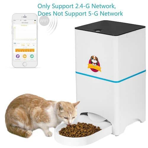 Abdtech Automatic Wifi Smart Pet Feeder