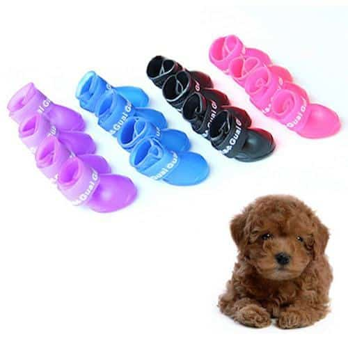 Adarl Waterproof Protective Rubber Rain Shoes