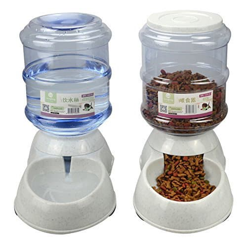 Betwoo Gravity-Operated Replenish Waterer + Feeder