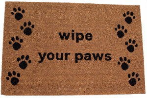BirdRock Home Wipe Your Paws Coir Doormat