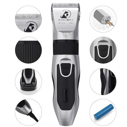 Bonve Pet Dog Grooming Clippers