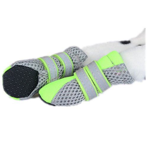 Colorful House Nonslip Mesh Soft-Sole Dog Shoes