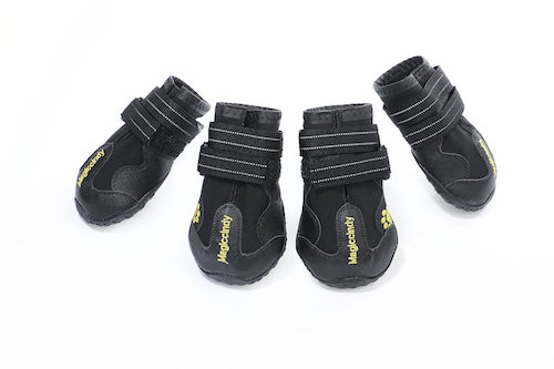 Colorful House Water-Resistant Anti-slip Dog Boots