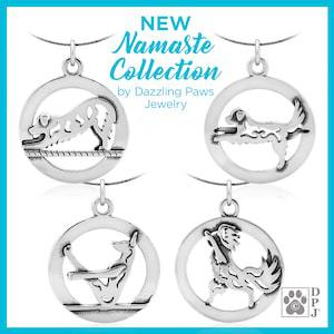 Dazzling Paws Jewelry Namaste Collection