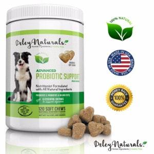 Deley Naturals Probiotics for Dogs
