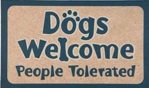 "DogPlay Large 30"" Decorative Floor Mat Doormat"