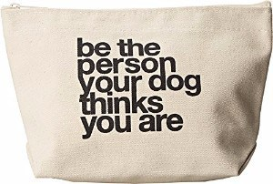 Dogeared Women's Be The Person Your Dog Thinks You Are Lil' Zip