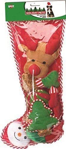 Ethical Christmas -Holiday Dog Toy Stocking 8 Piece X Large