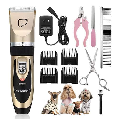 FOCUSPET Low-Noise Pet Clippers