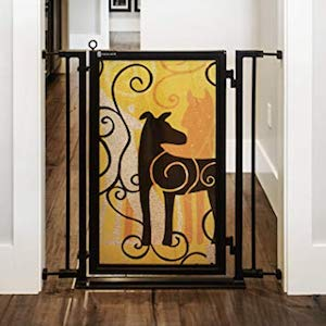 Fusion Gates for Baby & Dogs with Limited Edition Dream Dog Art Screen Design