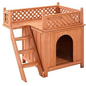Giantex Wooden Puppy Pet Dog House