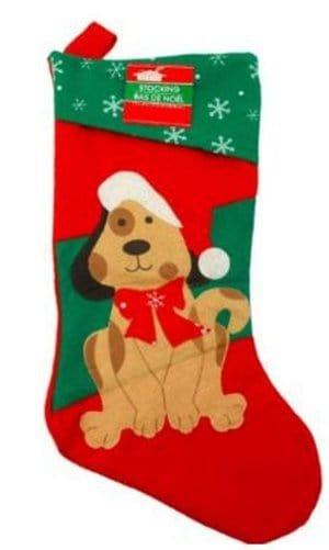 Greenbrier - Felt Christmas House Family Pet Christmas Stocking Dog