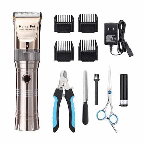 Haige Pet Rechargeable Cordless Grooming Clippers