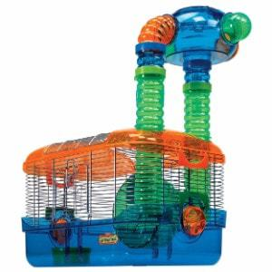 Kaytee Critter Trail Triple Play 3 in 1 Habitat for Hamsters
