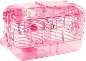Kaytee Super Pet Crittertrail Pink One Level Habitat