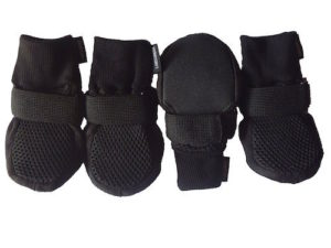 Lonsuneer Breathable Dog Boots with Soft Nonslip Soles