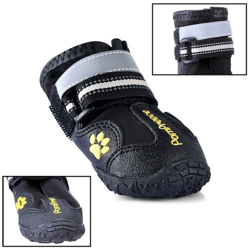 Maxshop Waterproof Rugged Dog Shoes