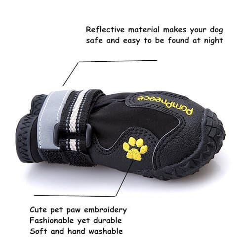 Maxshop Waterproof and Rugged Dog Shoes