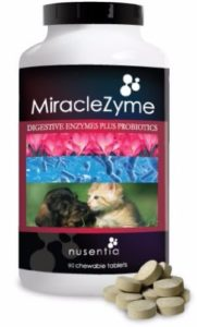 NUSENTIA MiracleZyme Probiotics for Dogs