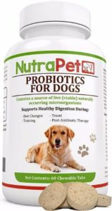 NutraPet Probiotics for Dogs Chewable