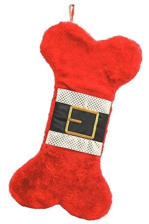 Pearhead Dog Bone Christmas Stocking