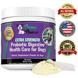 Peppy Paws Best Probiotics for Dogs