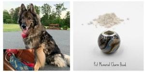 Pet Memorial Charm Beads