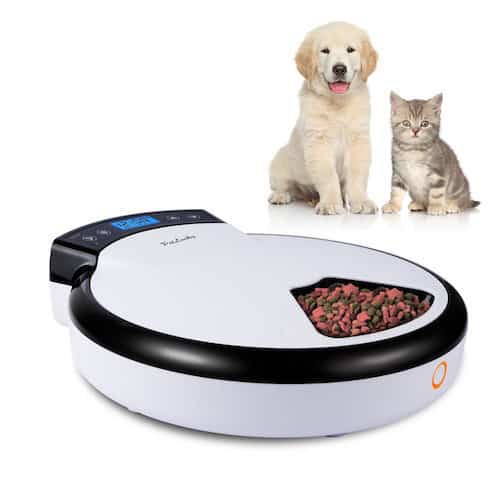 aspen petmate le portion automatic feeder bistro control feeders pet