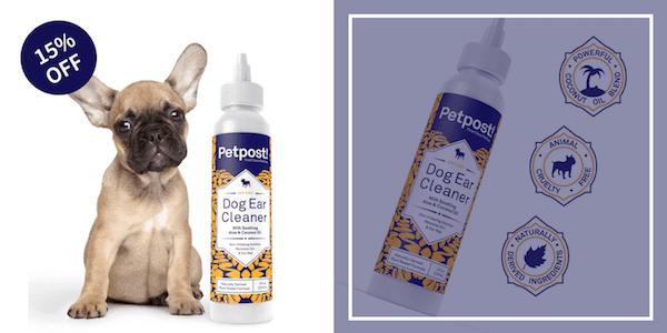 Petpost! Dog Ear Cleaner