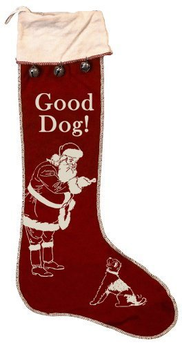 Primitives By Kathy Vintage Good Dog Stocking