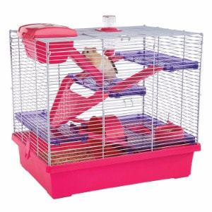 Rosewood Pet Pico XL Pink & Purple - Hamster & Small Animal Home/Cage